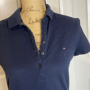 Tommy Hilfiger Tops - Tommy Hilfiger Women's Tops Polo Navy EUC
